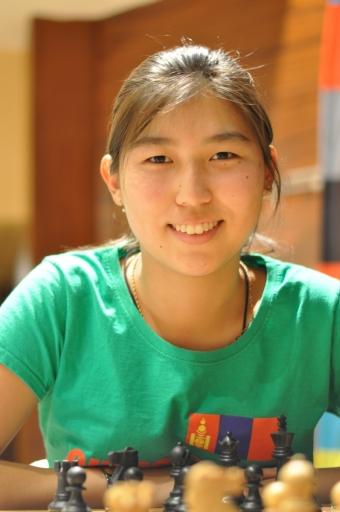 Velmistryně Davaademberel Nomin-Erdene